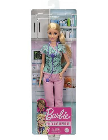 Barbie Playset con Bambola Infermiera