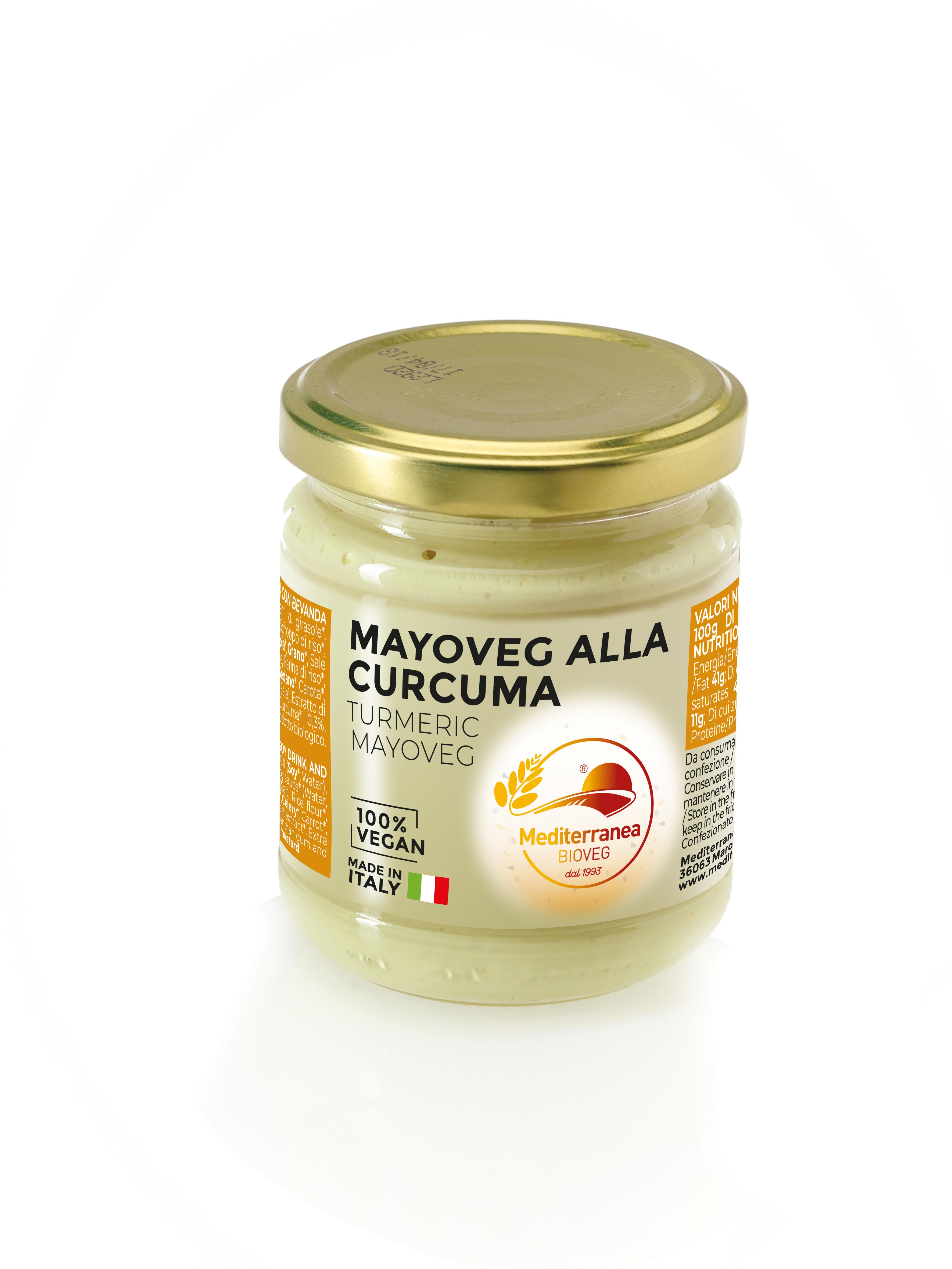 Mayo veg alla curcuma