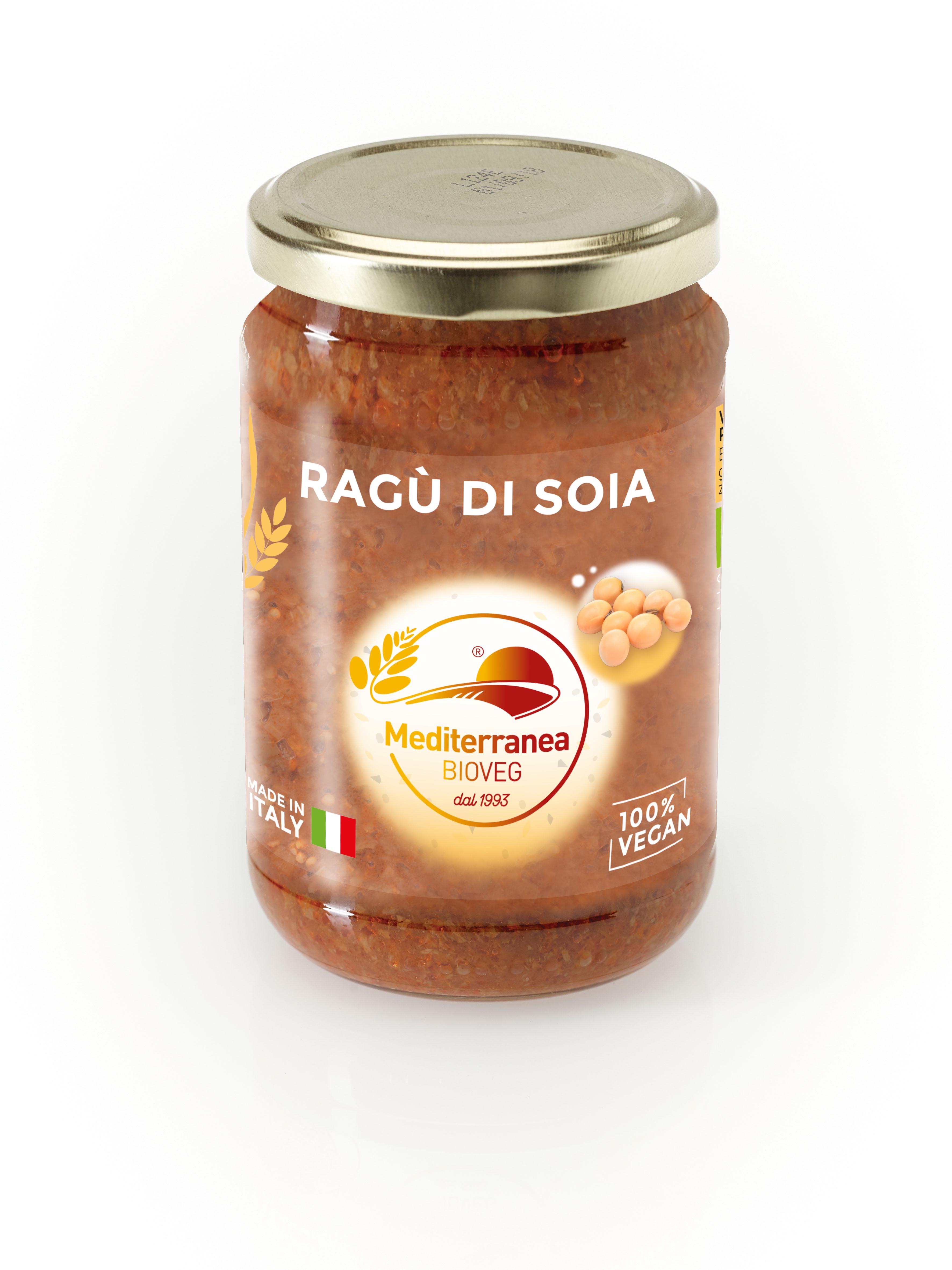 Ragù di soia (sugo fresco)