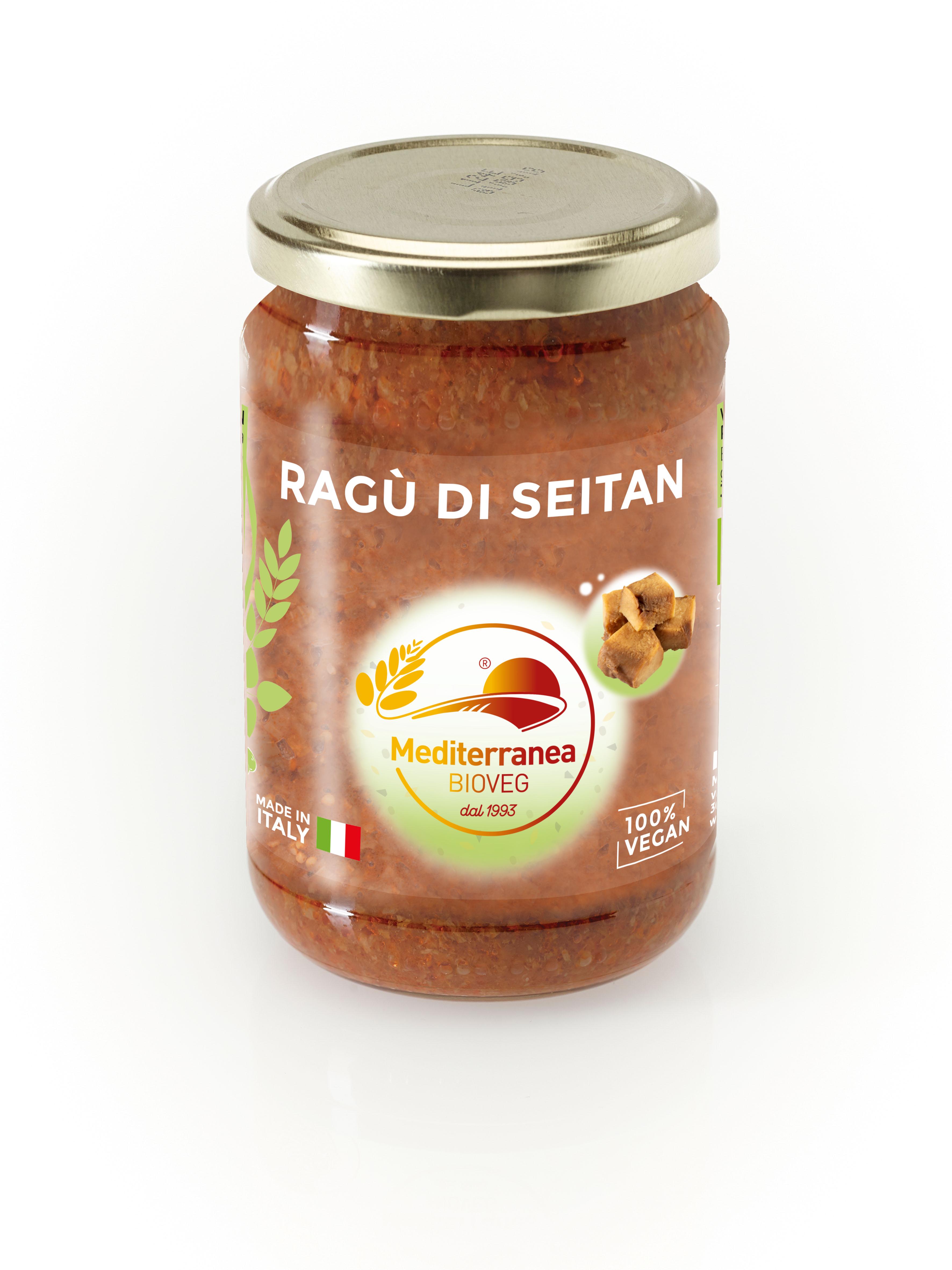 Ragù di seitan (sugo fresco)