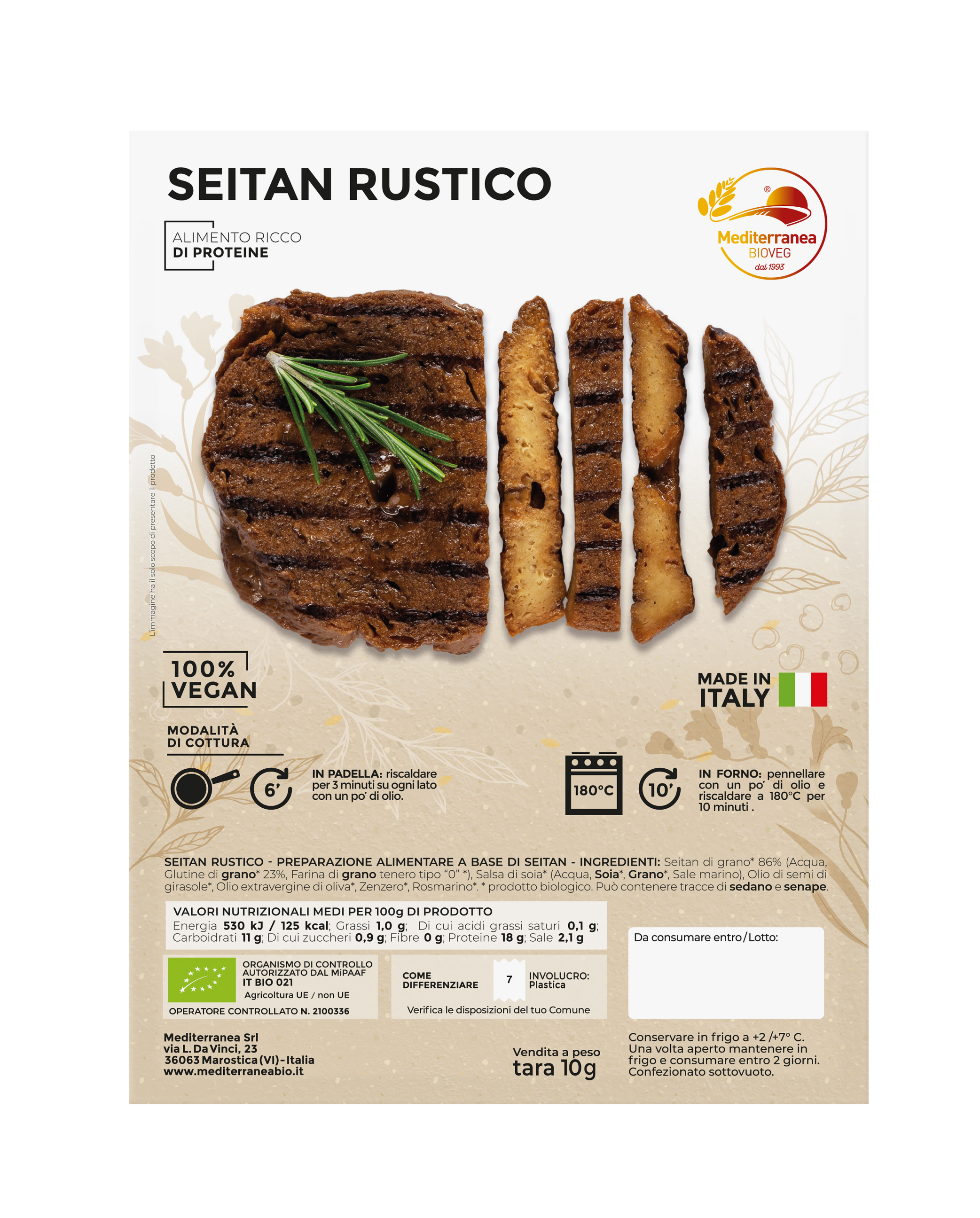 Seitan rustico