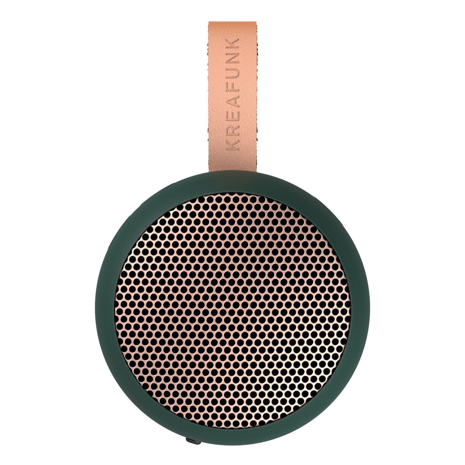 AGO altoparlante bluetooth splashproof con vivavoce - verde