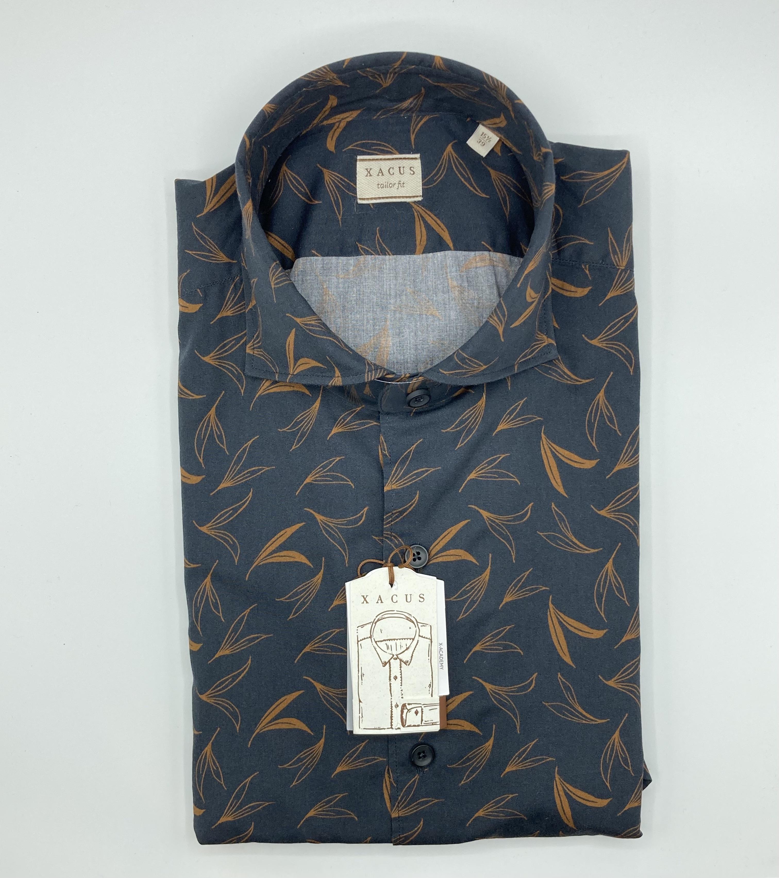 Camicia Xacus, cotone stampato