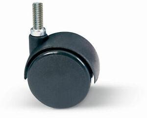 Ruota per Arredamento 50mm con Perno Filettato