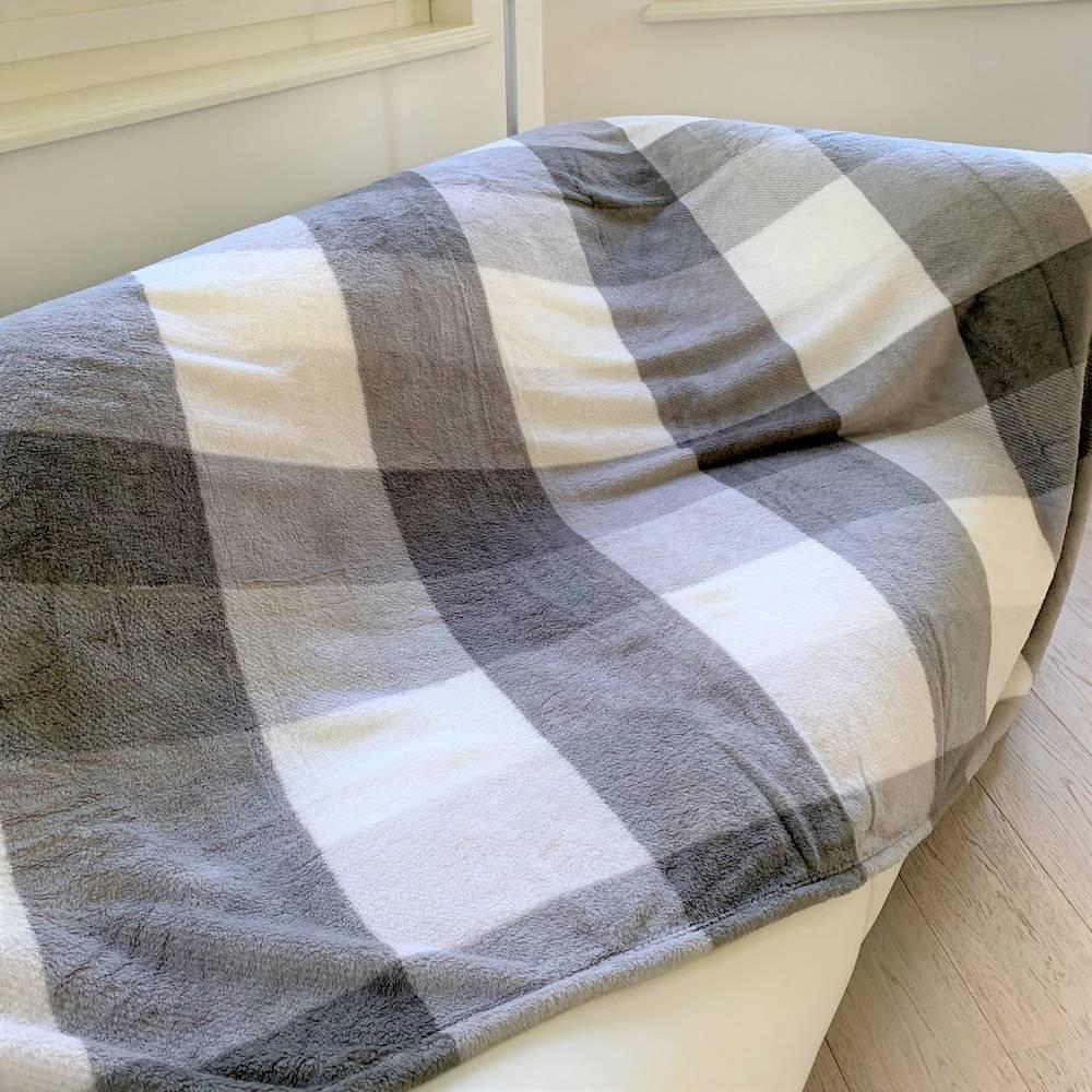 Plaid singolo 160 x 210 london grigio