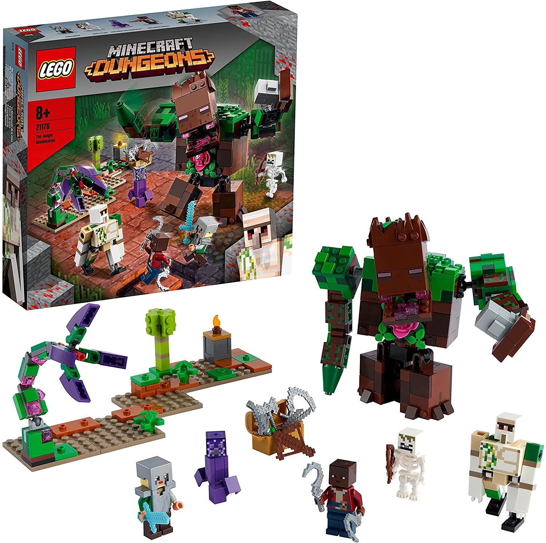 LEGO Minecraft L'Abominio della Giungla