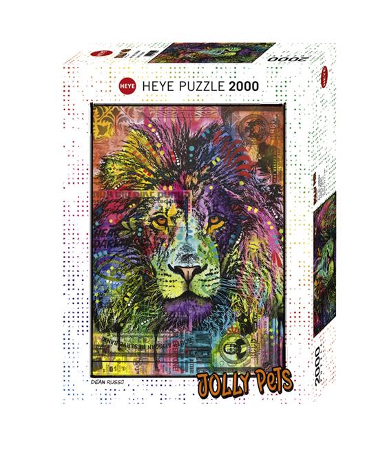 Heye 29894 -Jolly Pets 2000 pz Cuor di leone