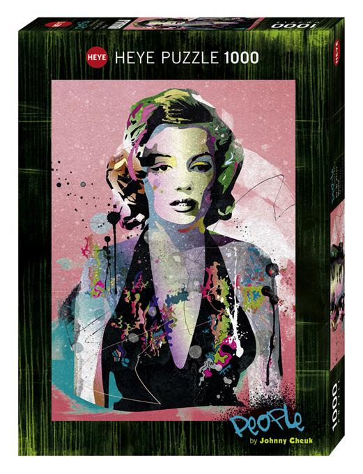 Heye 29710-Cheuk Marilyn puzzle 1000 pz