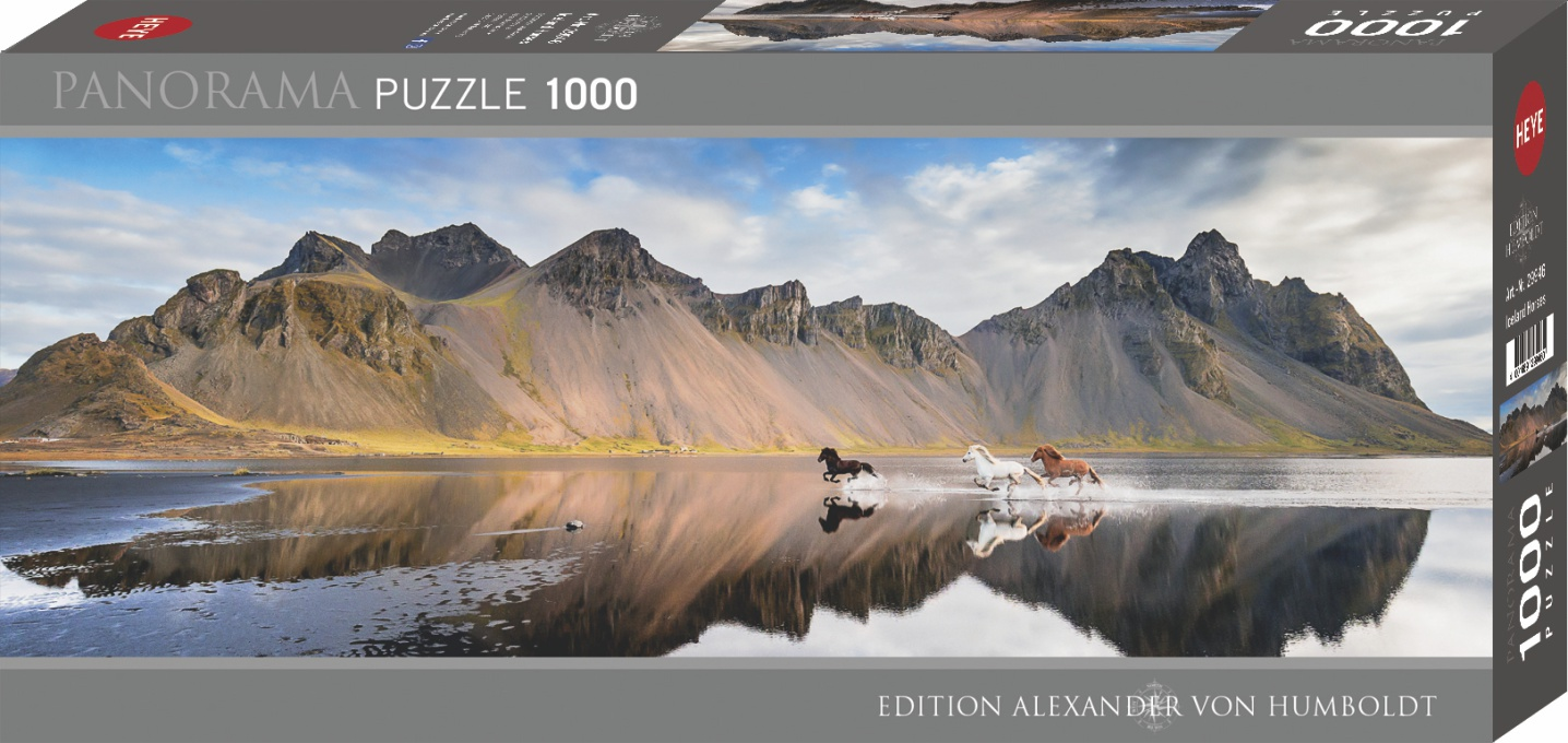 Heye 29946-Von Humboldt Island Horses 1000pz