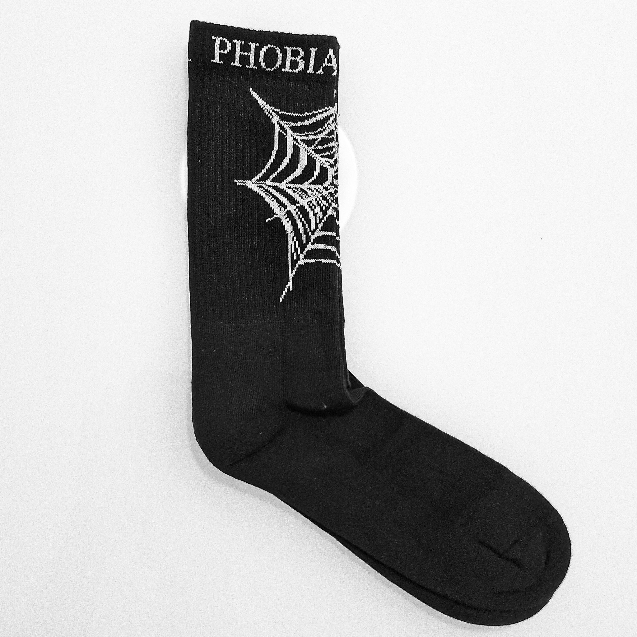 Calze Phobia Ragnatela Black