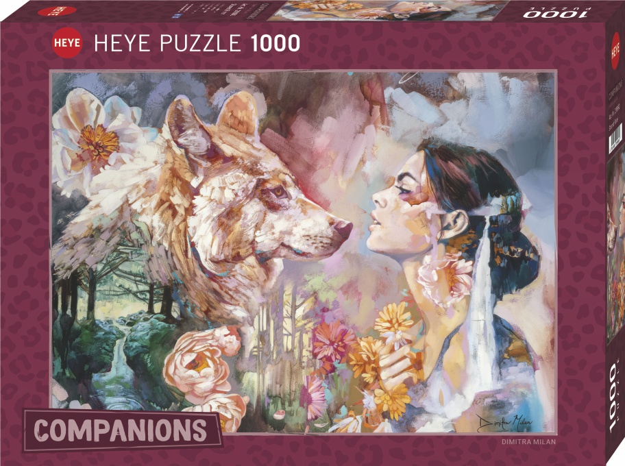 Heye 29960 -Companions puzzle 1000 pz Shared River