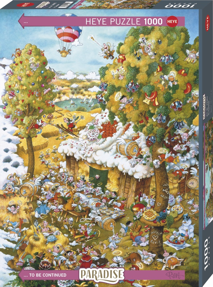 Heye 29962-Paradise puzzle 1000 pz In Summer