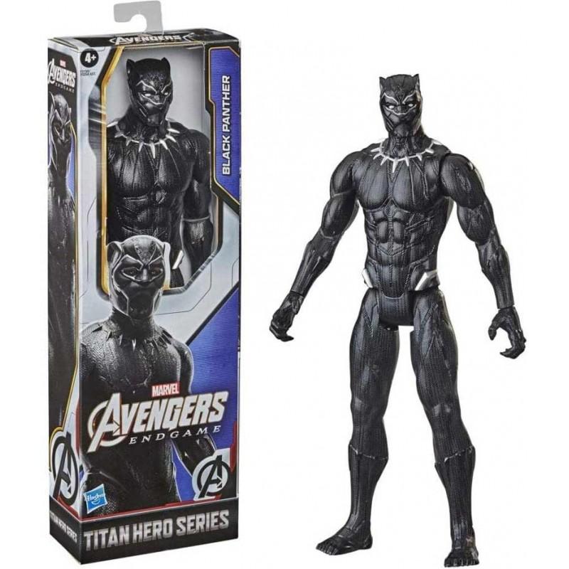 HASBRO AVENGERS TITAN HERO BLACK PANTHER CM 30