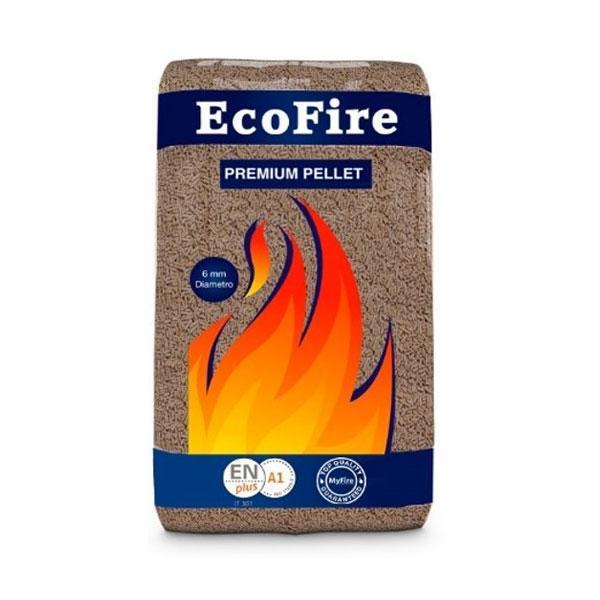 MyFire® ECOFIRE PREMIUM PELLET Sacco 15 kg Bancale 70 sacchi