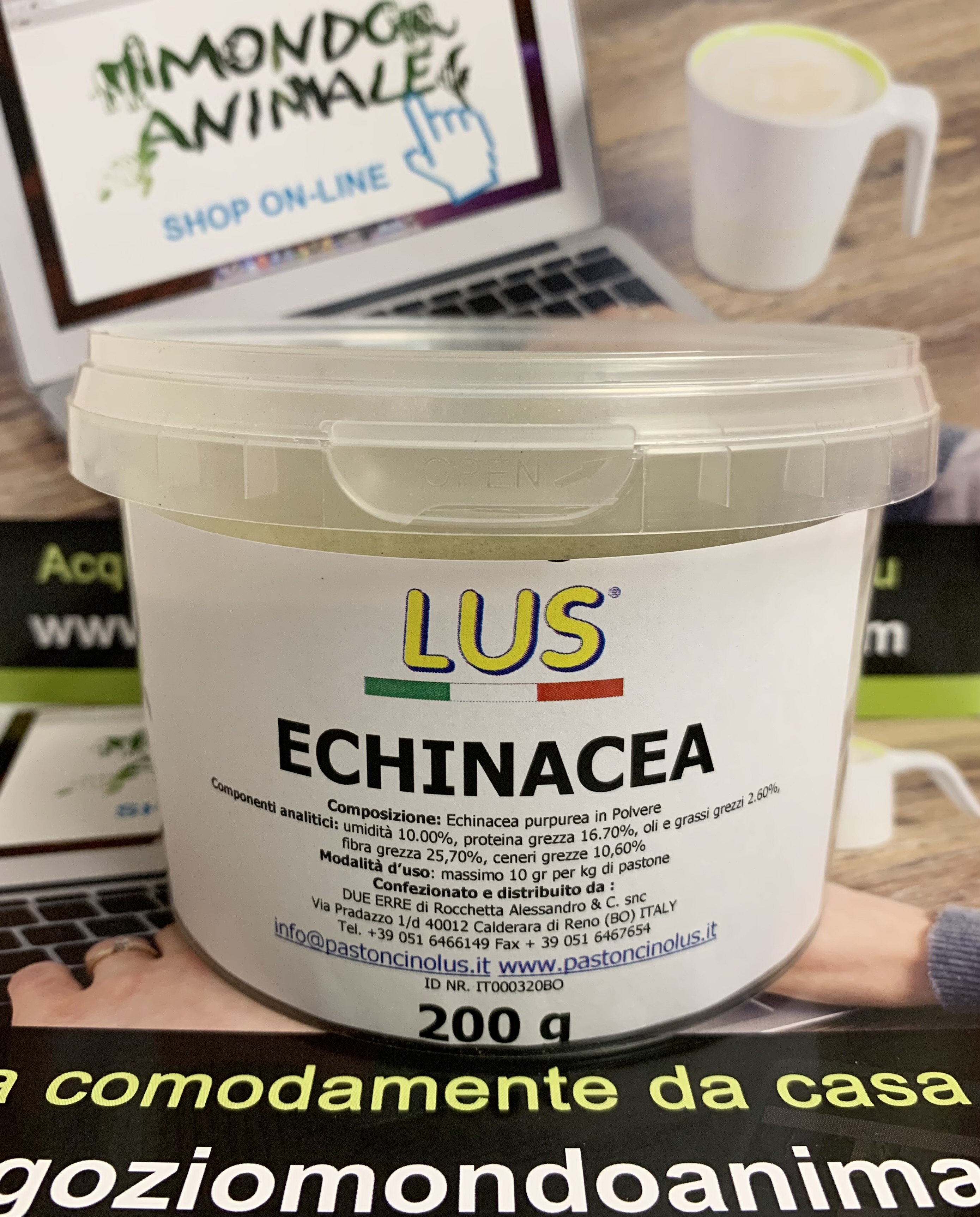 ECHINACEA Polvere 200gr