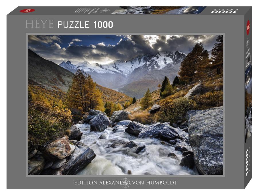 Heye 29712-Von Humboldt pozzle 1000 pz Mountain Stream