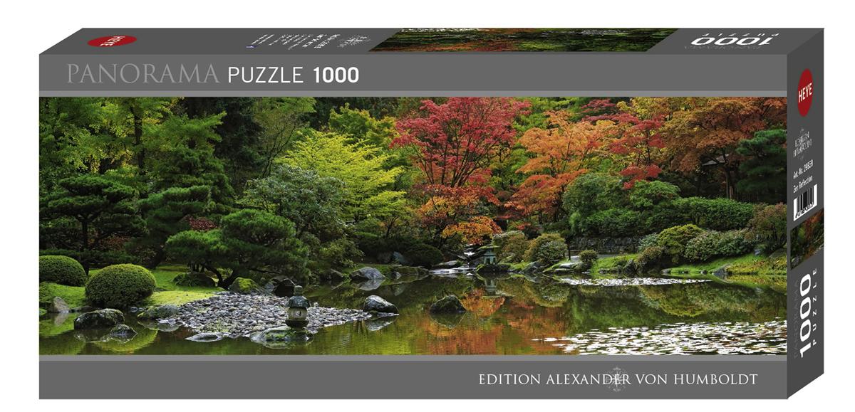 Heye 29859-Von Humboldt puzzle 1000 pz Zen Reflection