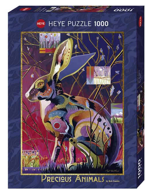 Heye 29879-Precious Animals puzzle 1000 pz Ever Alert