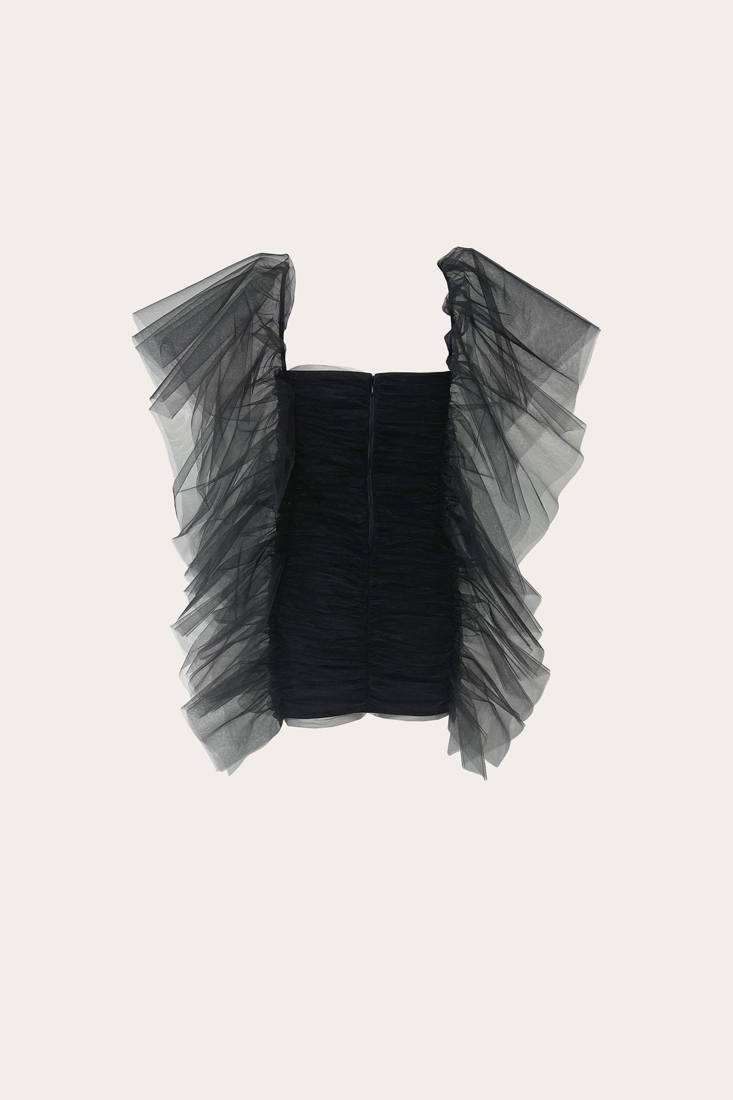 Abito Butterfly Tull Dress Aniye By