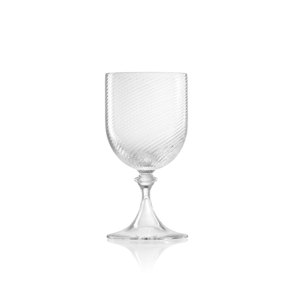 Calice Vino Bianco 3/62 Rigadin Ritorto Cristallo
