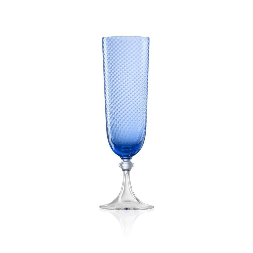 Flute 3/62 Rigadin Ritorto Blu