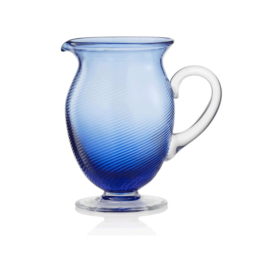 Caraffa 3/62 Rigadin Ritorto Blu