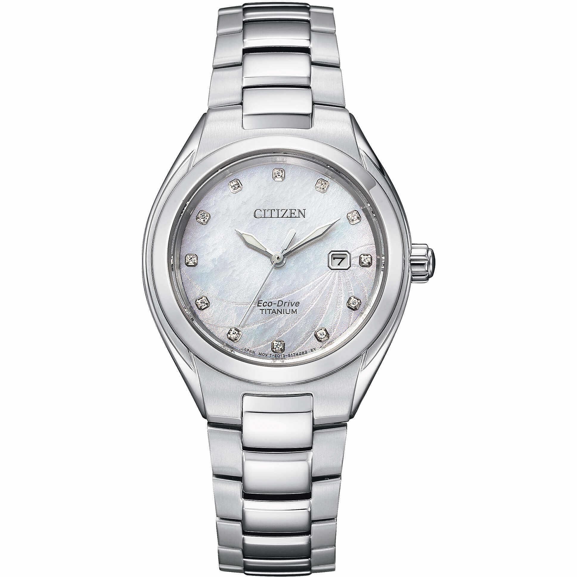 orologio solo tempo donna Citizen Supertitanio