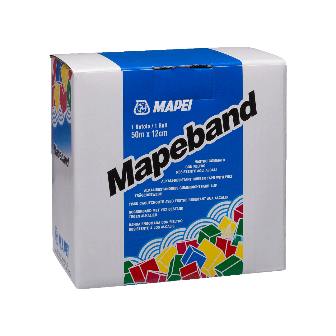 Nastro Gommato con feltro Mapeband MAPEI