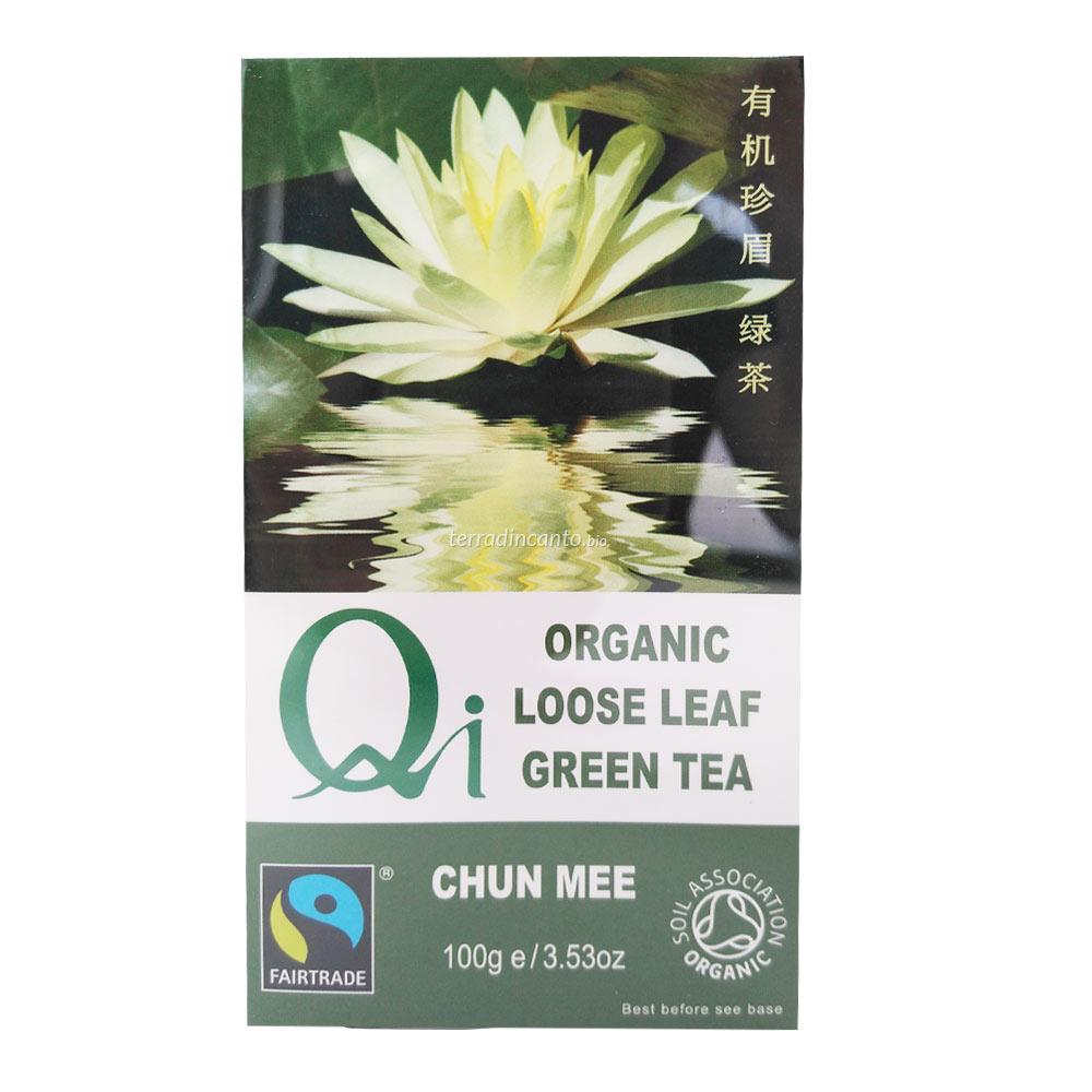 Tè verde cinese in foglie QI 100g