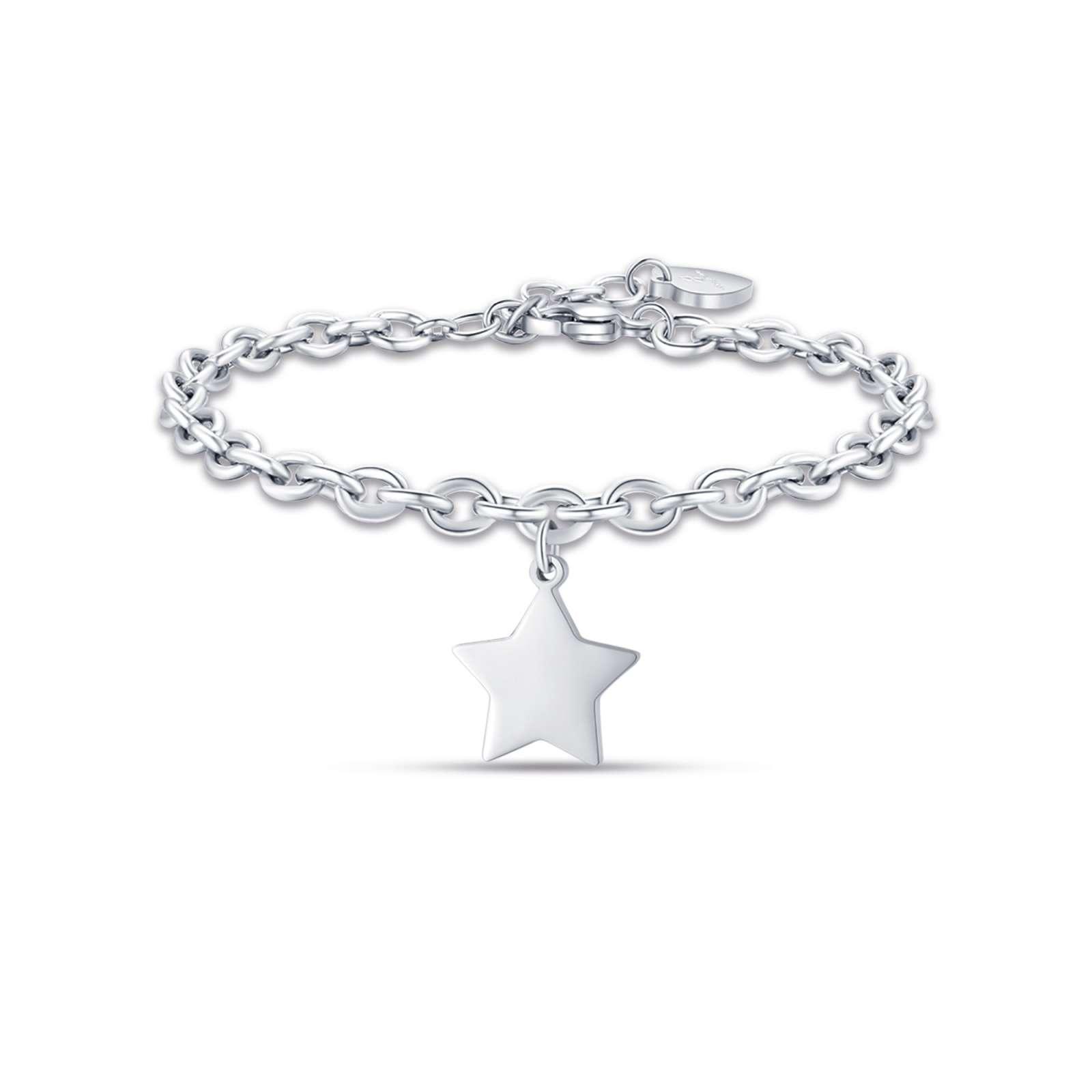 Luca Barra - Bracciale in acciaio con stella