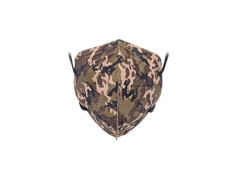 Mascherina FFP2 colore Militare Adulto