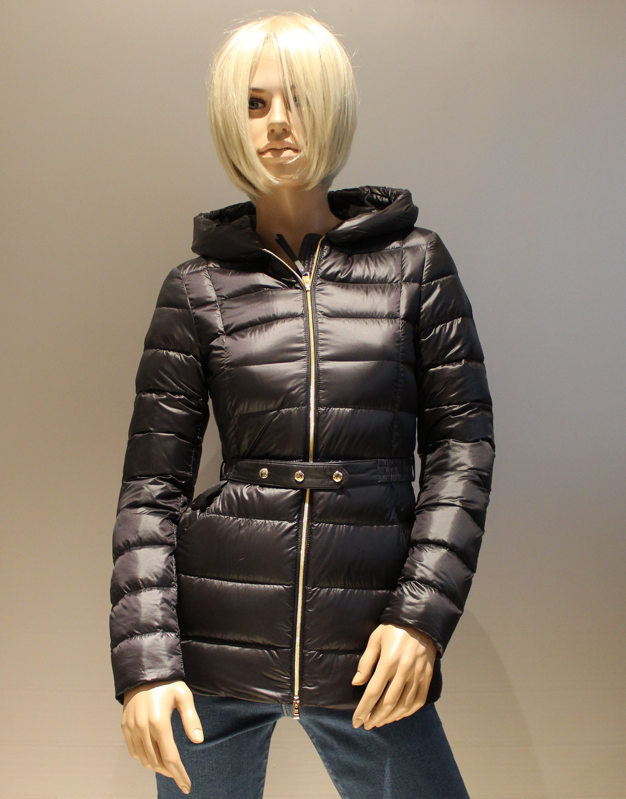 Giacca donna WOOLRICH ABBIE HOODED JACKET black