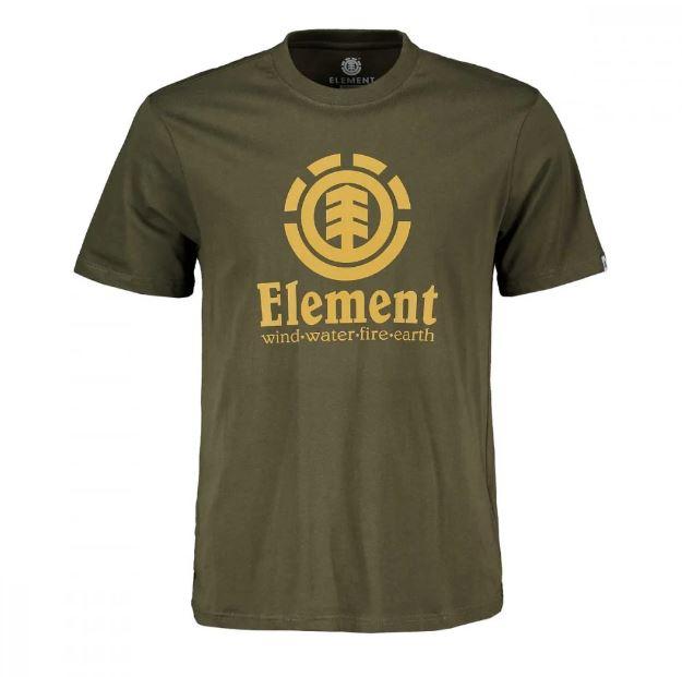 T-Shirt Element Vertical SS Military Green