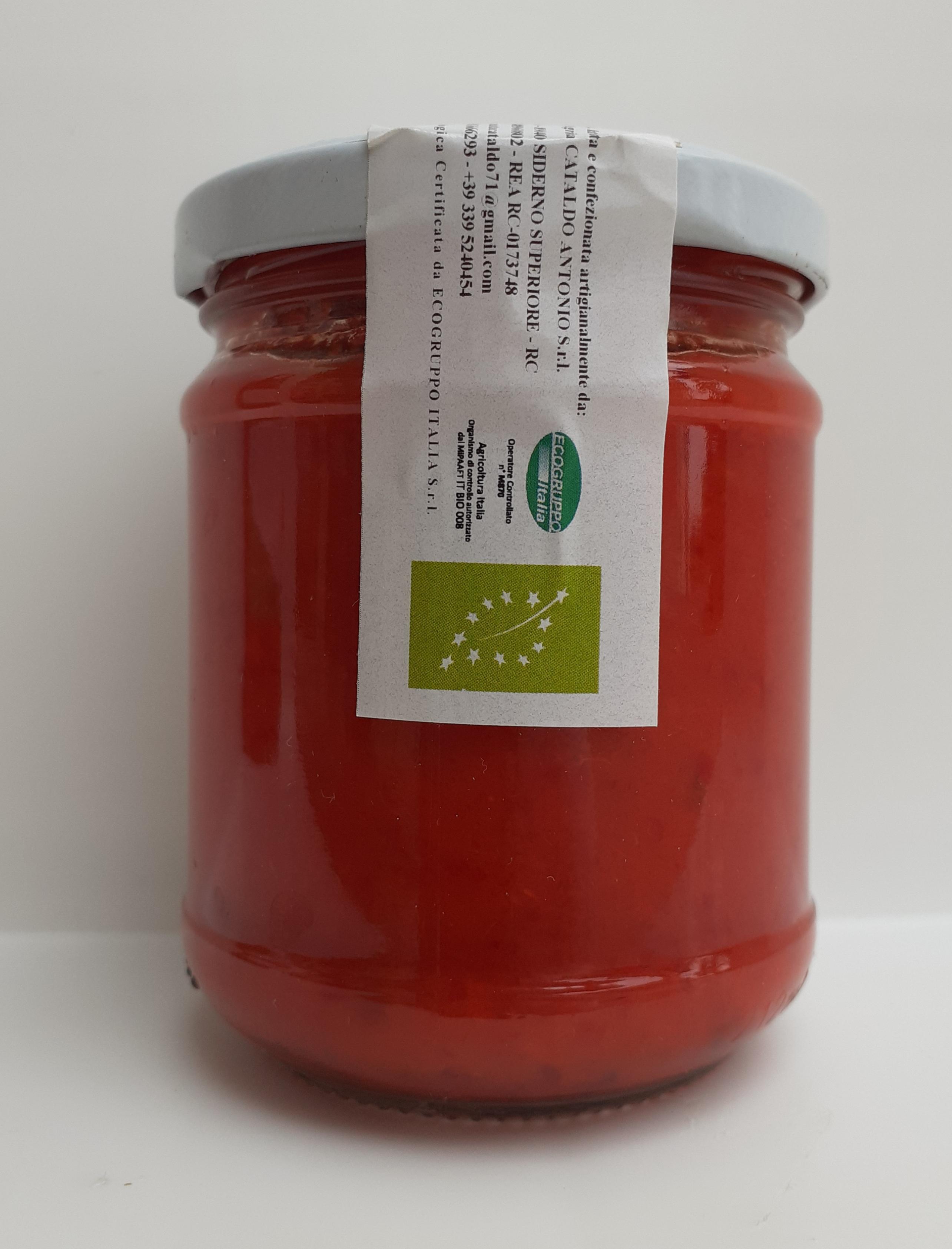 Salsa Piccante (98% Peperoncino) 200 gr