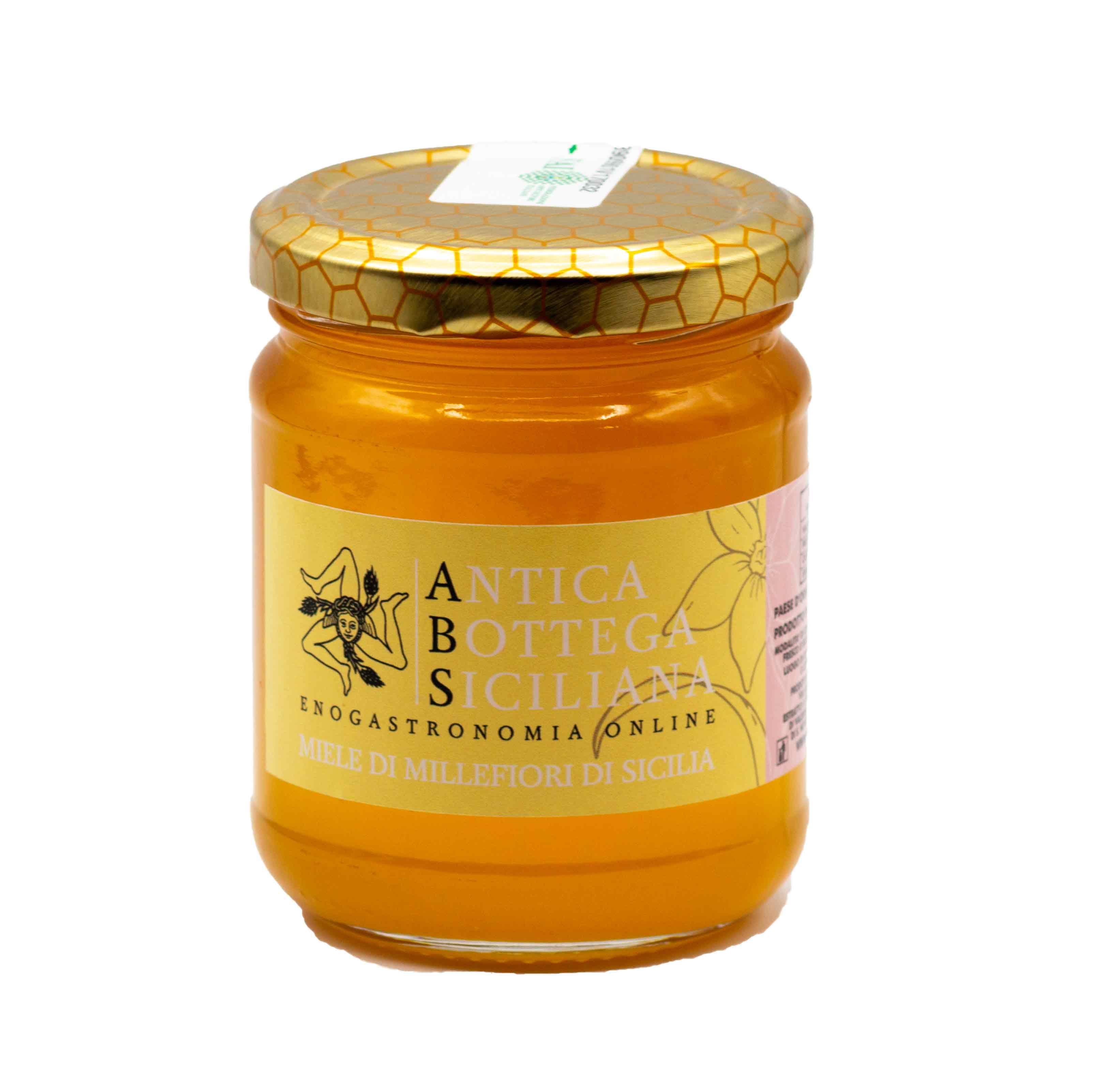 Miele millefiori di Sicilia 250 grammi
