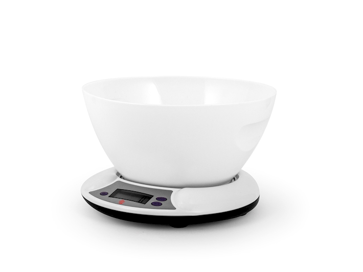 Bilancia cucina digitale 5kg bianca