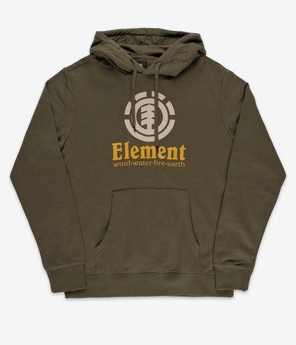 Felpa Element Vertical Hood Green