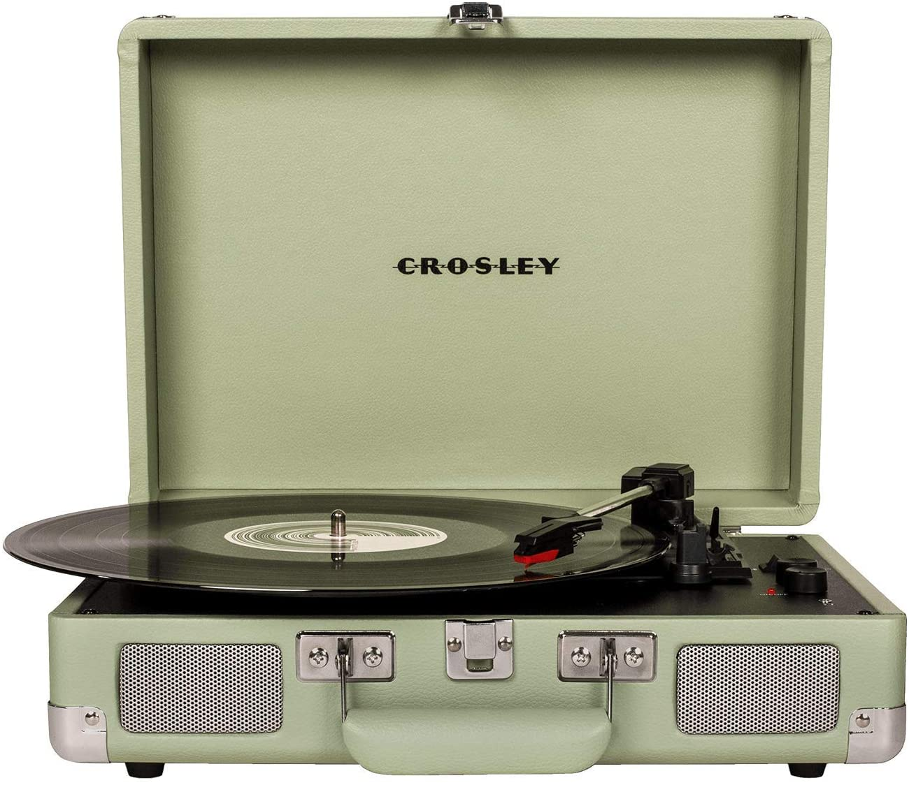Crosley Cruiser Deluxe giradischi a valigetta color verde menta con bluetooth IN