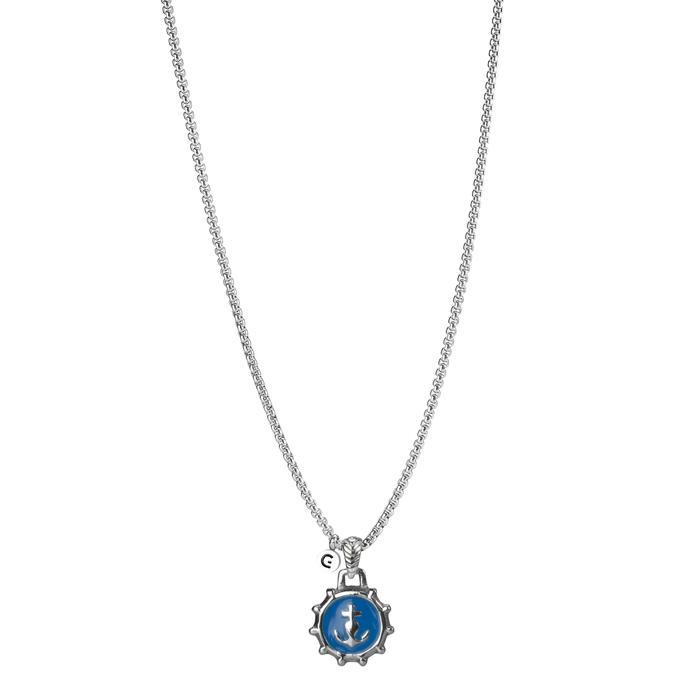 Goyatè - Collana Nautilus HOPE BLUE NECKLACE