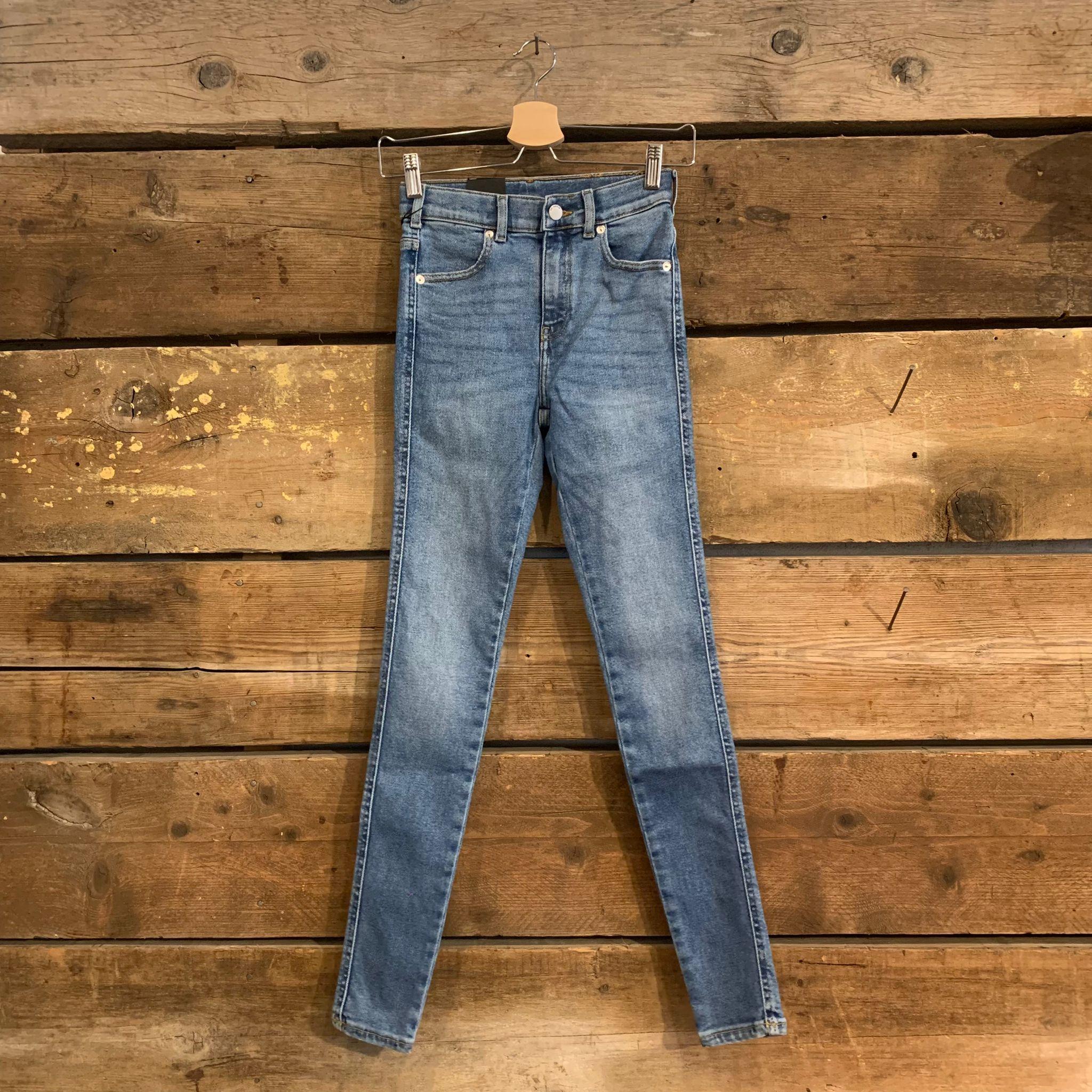 Jeans Dr. Denim Lexy Donna Super Skinny Breeze Dark Stone