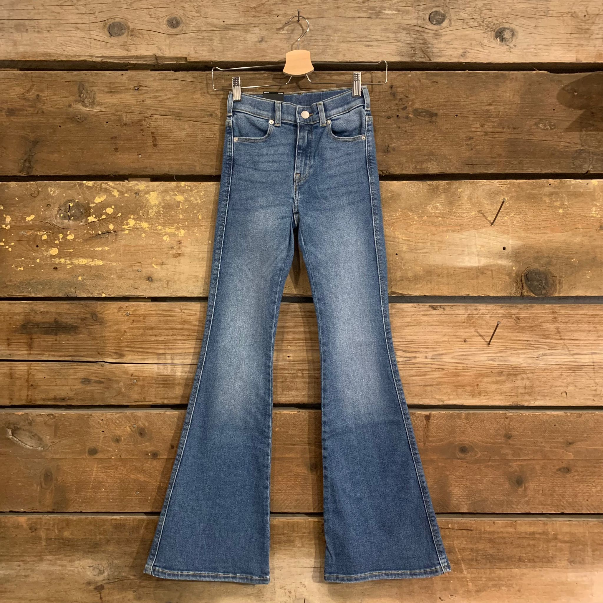 Jeans Dr. Denim Macy Donna Super Skinny Flared L30