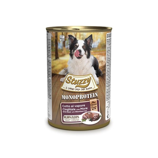 STUZZY DOG MONOPROTEIN PATE' CINGHIALE 400 GR