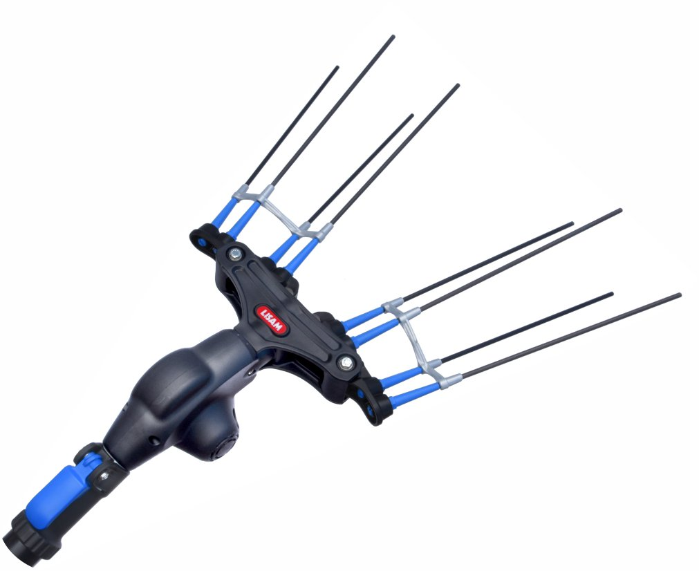 Abbacchiatore Pettine in carbonio LISAM THOR scuotitore per raccolta olive elettrico