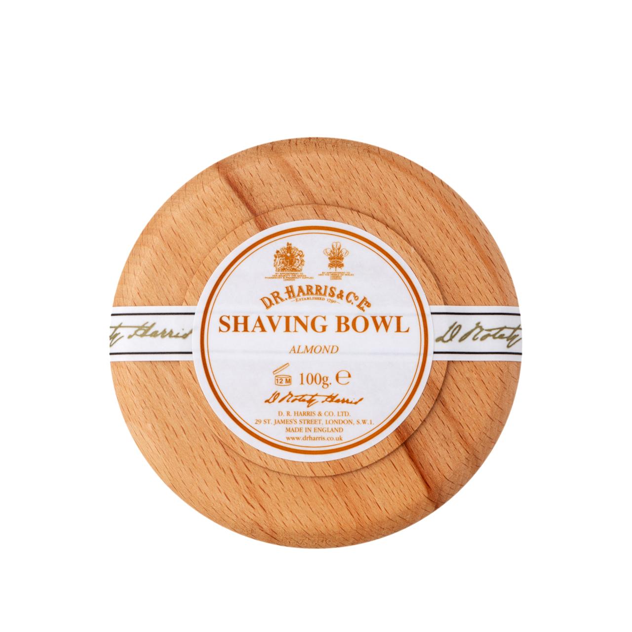Almond - Shaving Soap Bowl