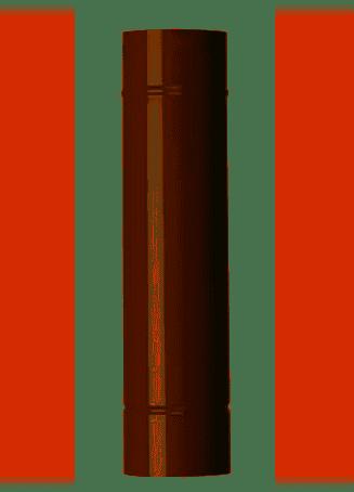 Tubo per Stufa Marrone 1mt