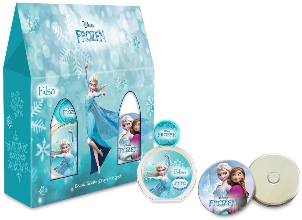 Confezione regalo Frozen profumo 50 ml e magnete