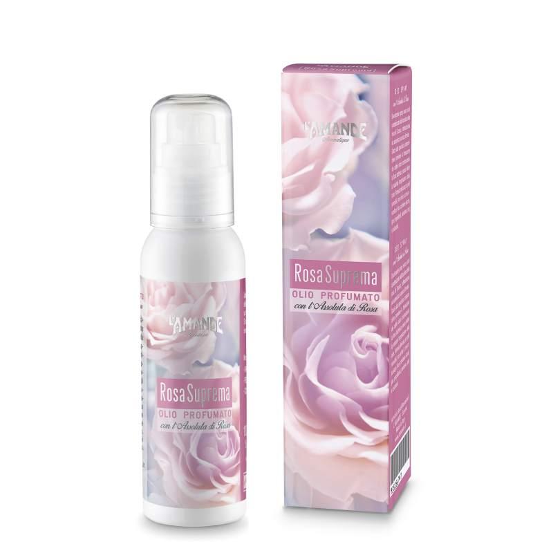 L'Amande, Olio profumato Rosa Suprema 100 ml