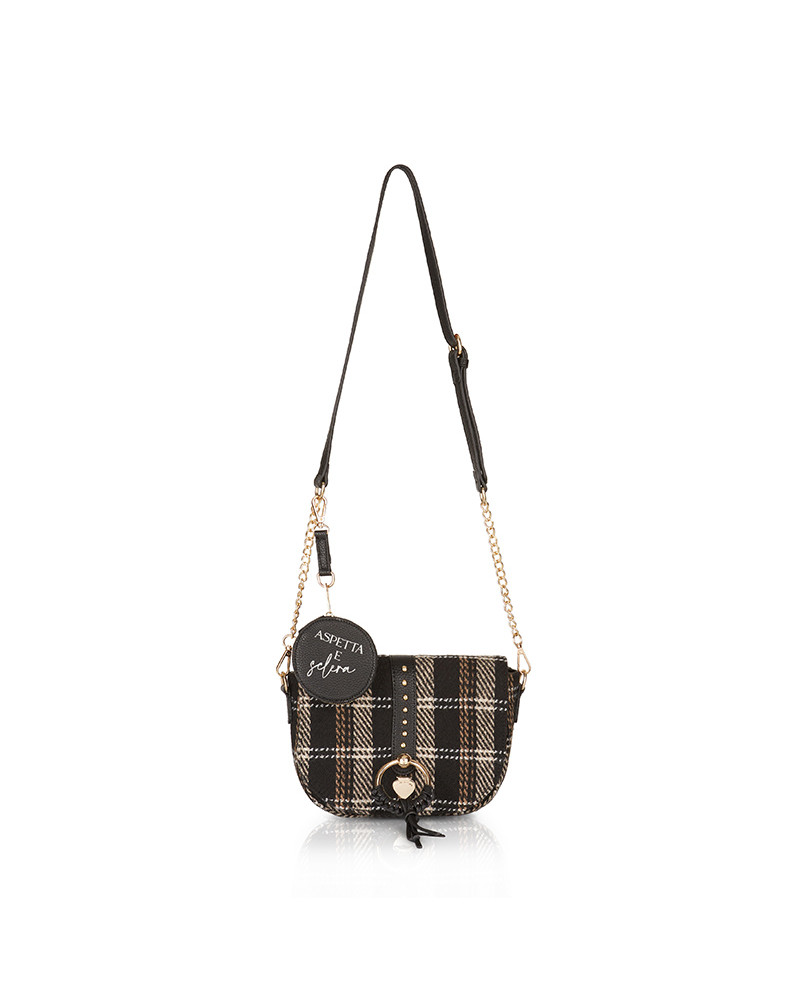 SHOPPING ON LINE LE PANDORINE VICKY WESTY SCLERA TARTAN BLACK NEW COLLECTION WOMEN'S FALL/WINTER 2022