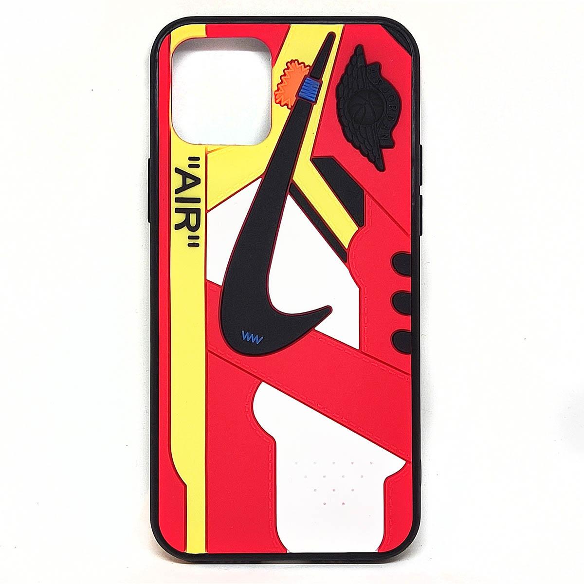 Cover AJ1 Chicago Air rossa per iphone 12, 12 pro, 12 mini, 12 pro max | Blacksheep Store