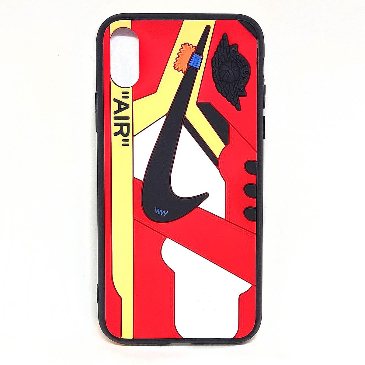 Cover AJ1 Chicago Air rossa per iphone X Xs, Xr, X Xs Max   Blacksheep Store